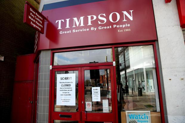 Bradford Telegraph and Argus: Coronavirus Timpson