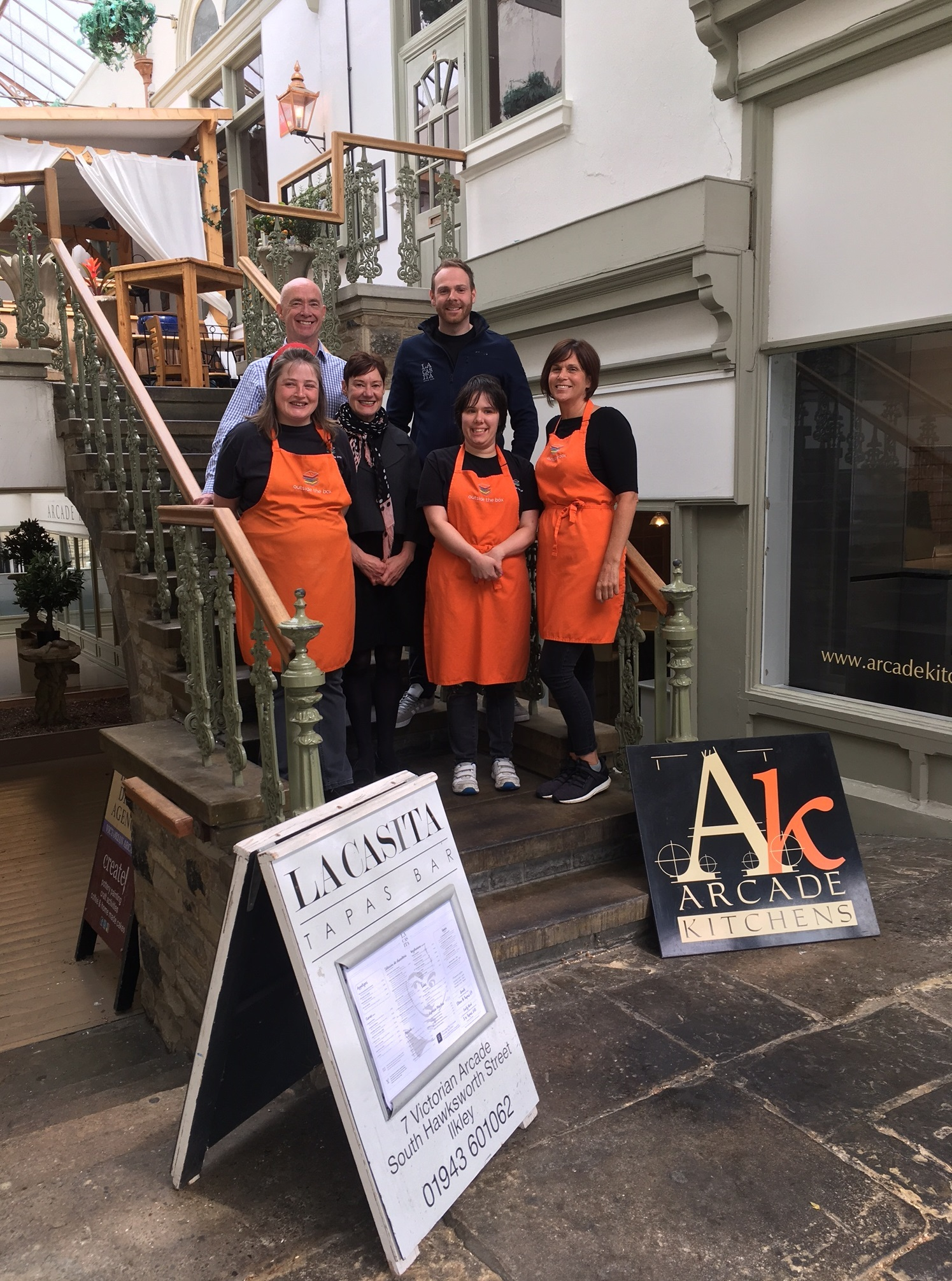 Ilkley Community Enterprise invests in town's Victorian Arcade
