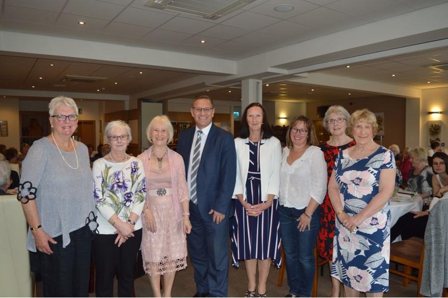 Calder Valley MP celebrates Brighouse ladies club's fundraising feat