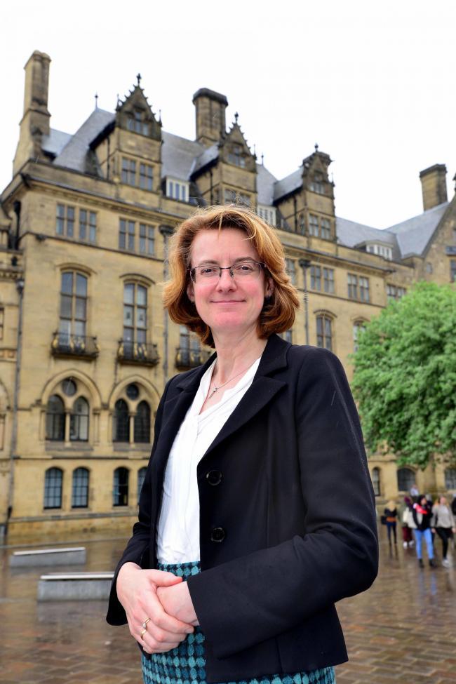 Leader of Bradford Council Susan Hinchcliffe