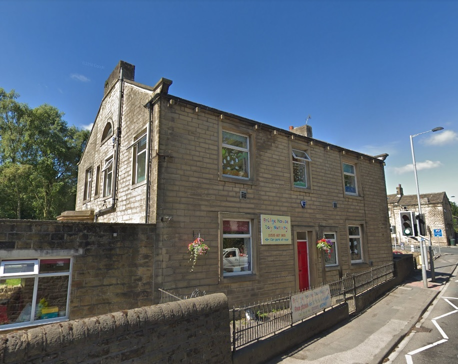 Bridge House Day Nursery, Steeton, rated Good by Ofsted