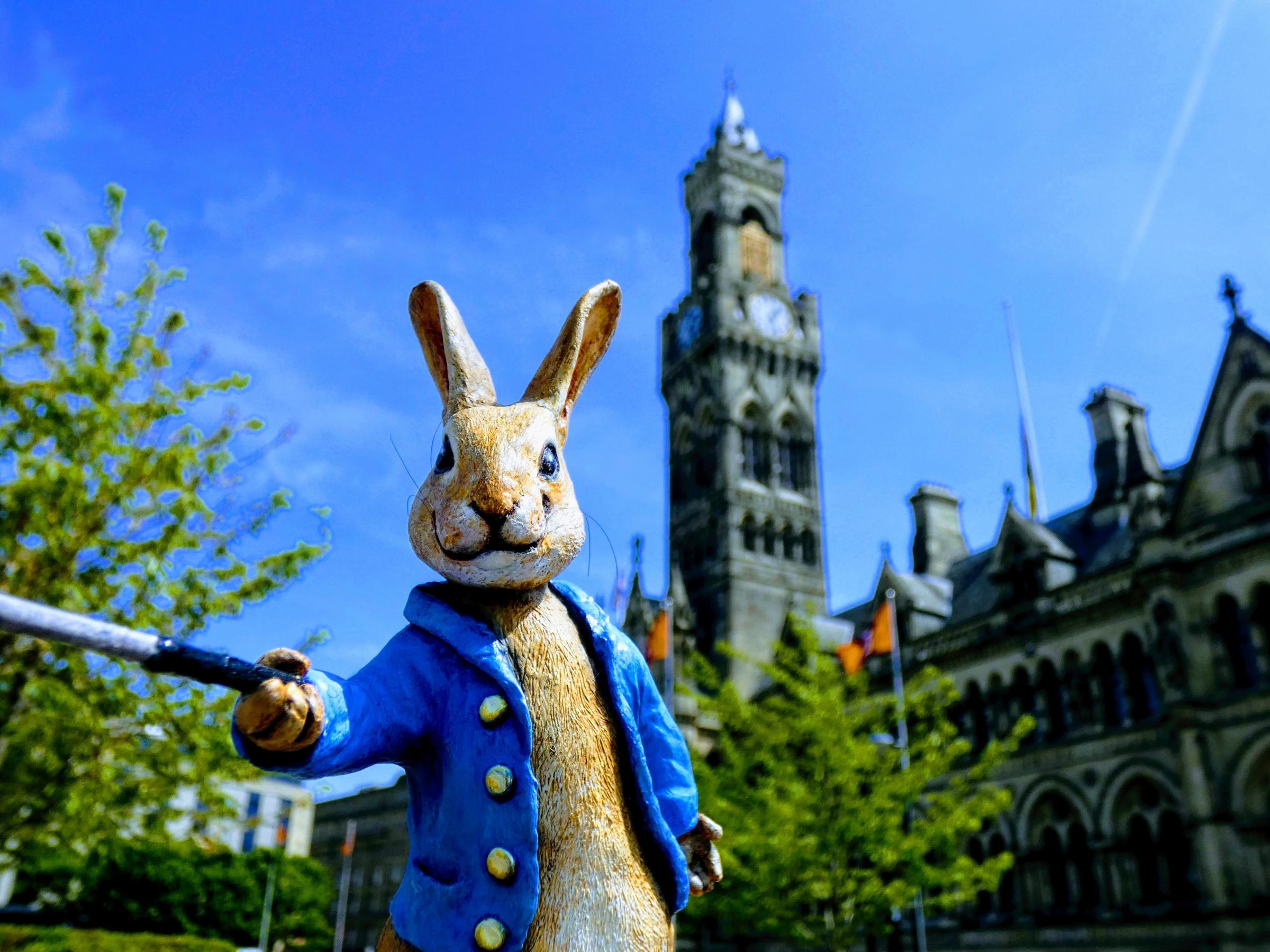 Last chance to visit Peter Rabbit exhibition