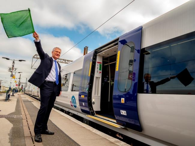 First of new fleet of Northern trains to enter service on