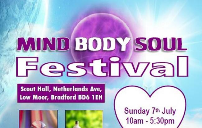 Low Moor is holding a Mind Body Soul festival