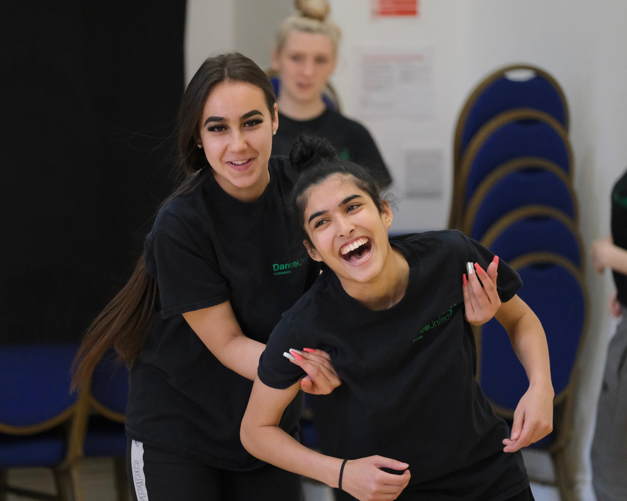 New Adventures working with Bradford youngsters on dance show