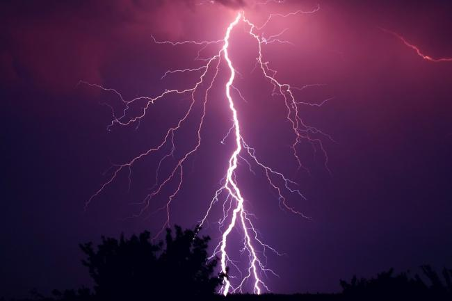 Thunderstorms are set to hit Bradford tomorrow. Pic: Pixabay