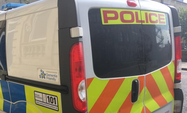 A West Yorkshire Police van