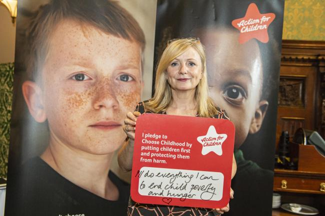 Batley & Spen MP Tracy Brabin is backing Action for Children's Choose Childhood campaign