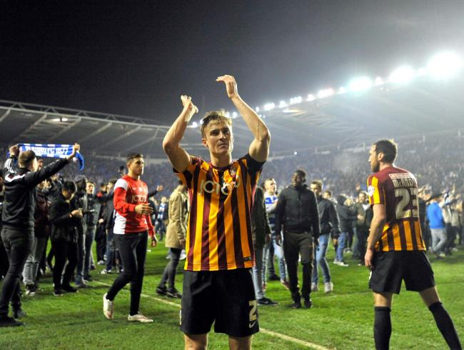 Stephen Darby will return to the home dressing room before the Liverpool game at Valley Parade tomorrow