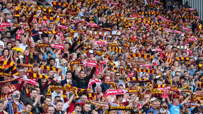 Bradford City will stage a series of charity showcases during home matches this season, starting with the Darby Rimmer Foundation in their match against Swindon next week