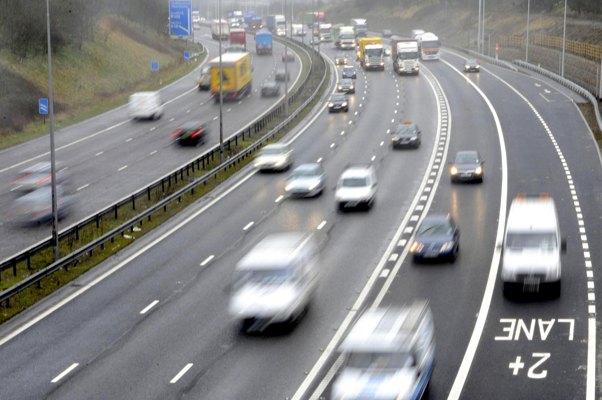 West Yorkshire has highest number of motorists caught at over 100mph