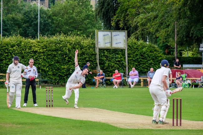 Ilkley in action against Otley in 2019, a much easier year than this one Picture: Phil Jackson