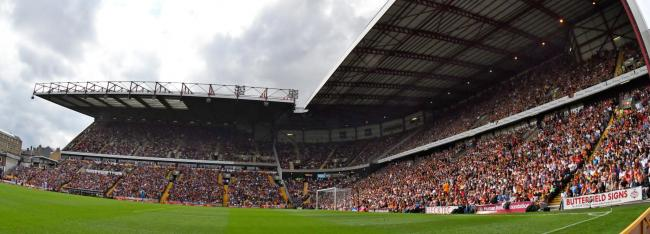 Home Office figures revealed that Bradford City fans were at the low end of the scale in terms of football arrests in the 2018-19 season
