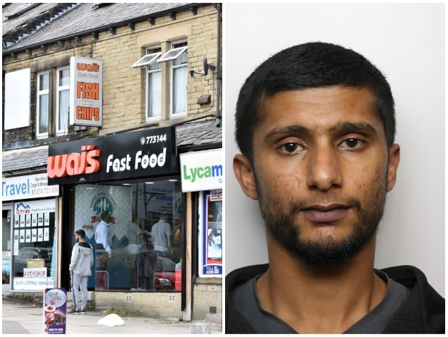 Arsonist jailed after setting fire to Waj's take away in Manchester Road, Bradford