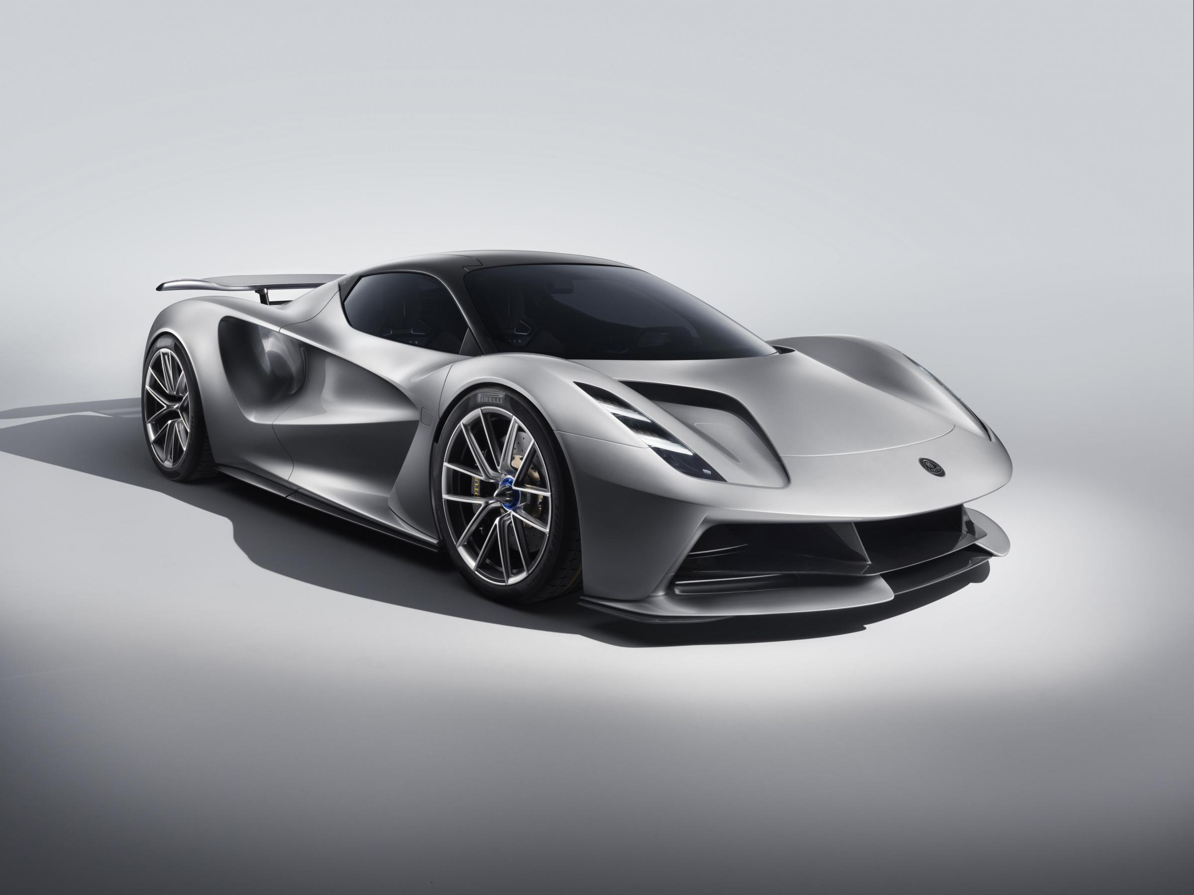 Is this 007's new company car? Lotus unveils Evija and it costs £1.7m
