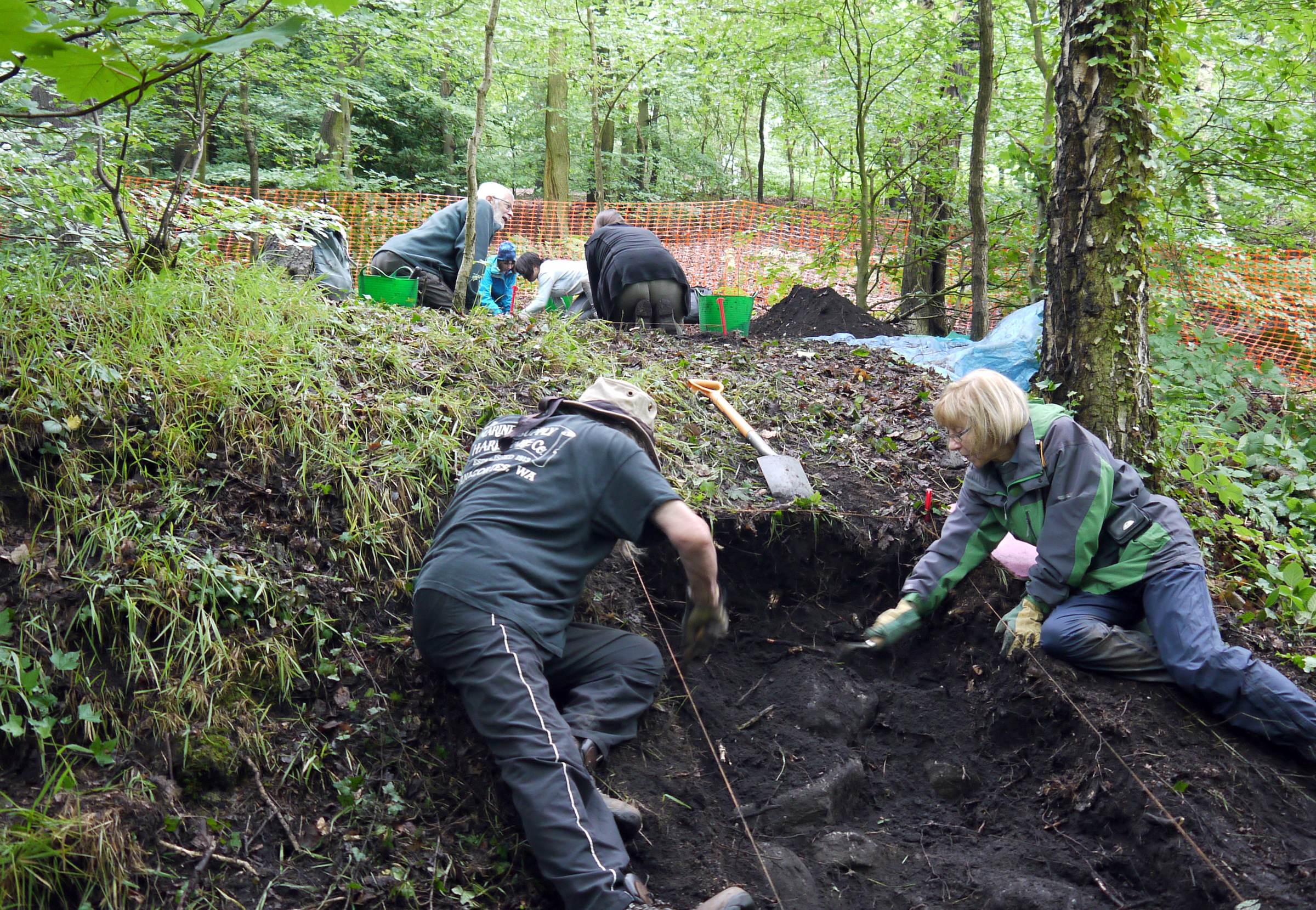 Evidence of ancient charcoal industry found in woods in Bradford district