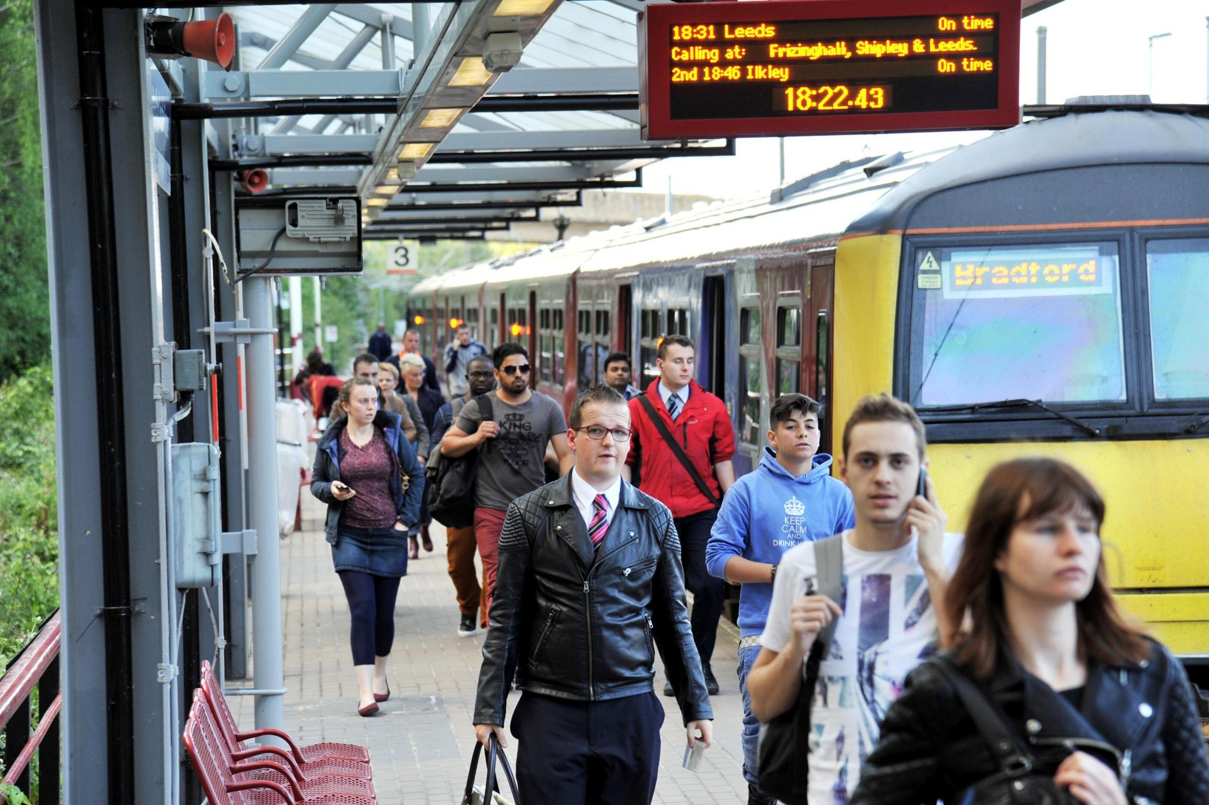 Airedale and Wharfedale line trains delayed after police incident