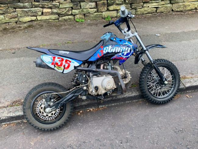 The nuisance bike. Picture: West Yorkshire Police
