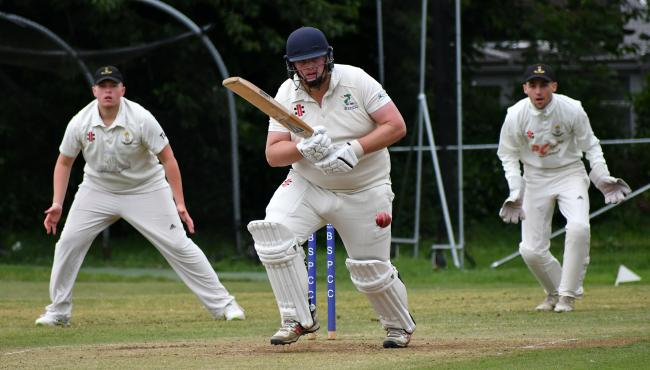 Kevin McDermott fired an unbeaten 51 for Buttershaw St. Paul's in their Bradford Evening League Division One clash with Crossflatts. Picture: Richard Leach