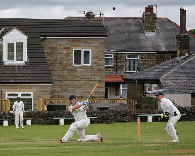 Josh Hutchinson scored 1,037 runs for Thornton in the 2019 Halifax Cricket League Premier Division season