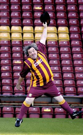 Bradford City's City Gent Lenny Berry in his matchday guise