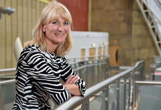 Professor Shirley Congdon, the new Vice Chancellor of the University of Bradford