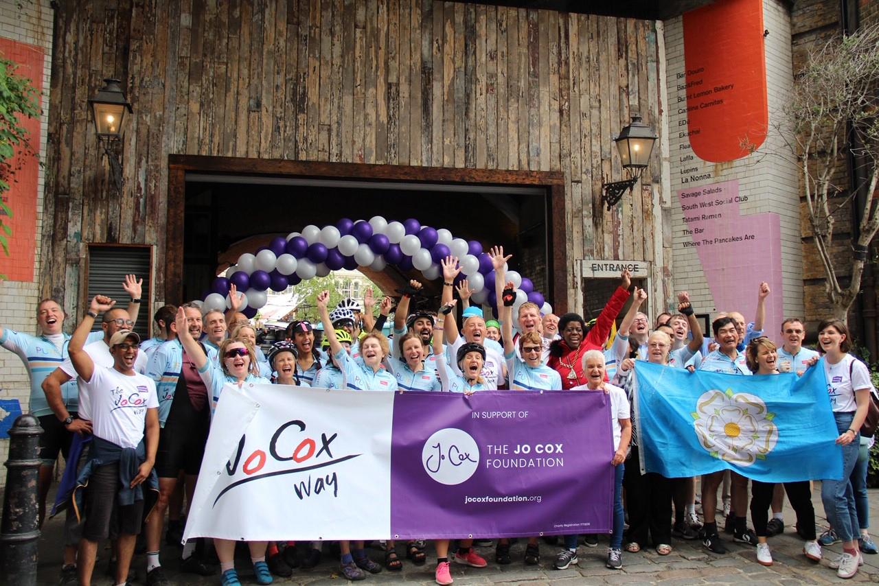 Jo Cox Way riders reach London
