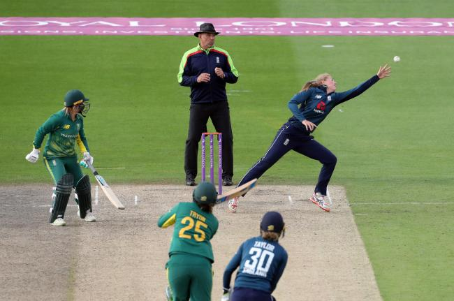 Injury means Chloe Tryon - pictured batting for South Africa - won't feature for Yorkshire Diamonds        Picture: Gareth Fuller/PA Wire