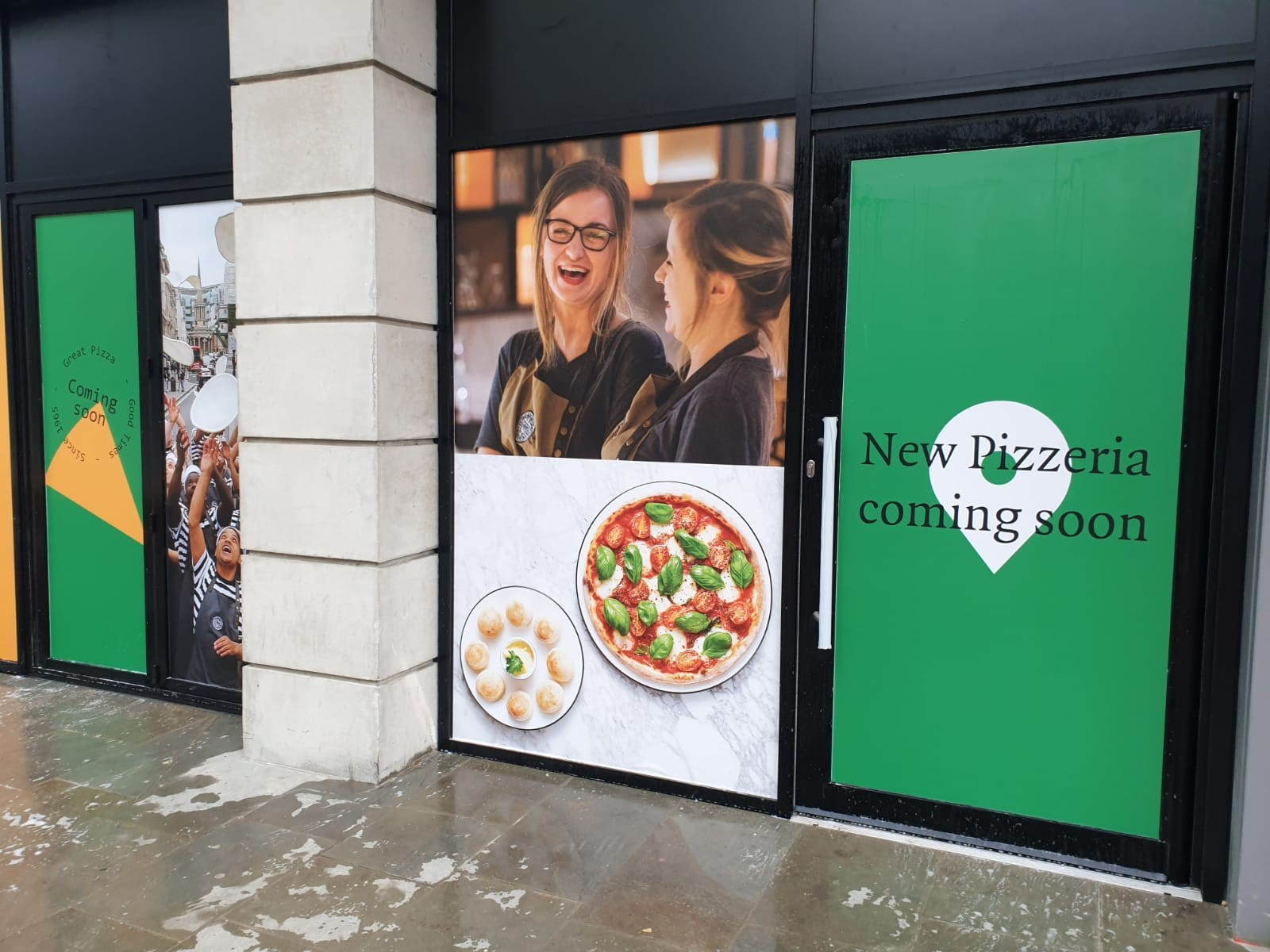 Opening Date Announced For Bradfords New Pizza Express