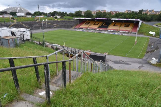Odsal Stadium as it looks currently