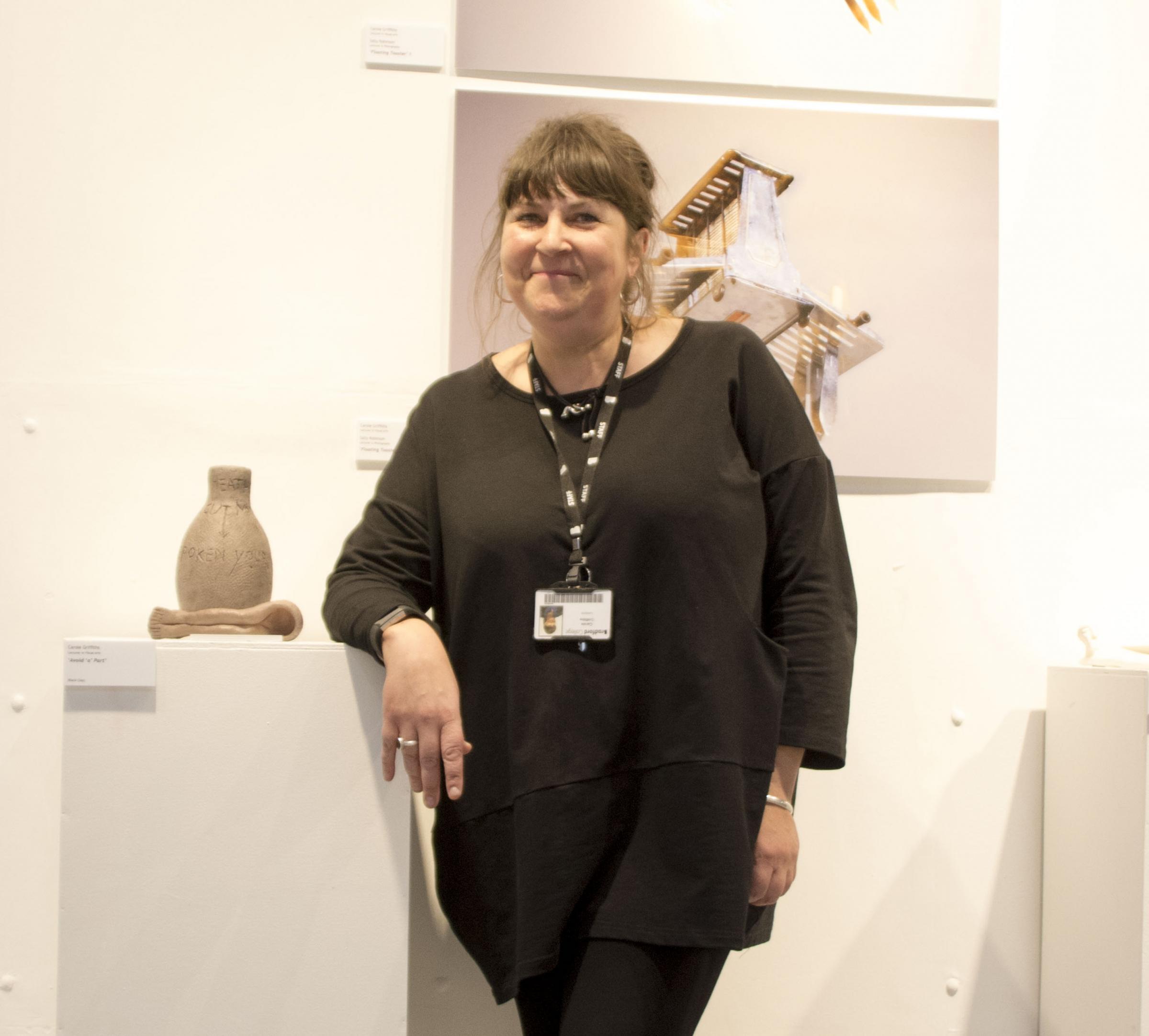 Teacher is host at major art festival