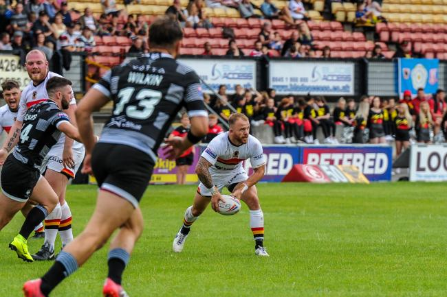 Matty Wildie impressed for Bulls against Toronto  Pic: Tom Pearson