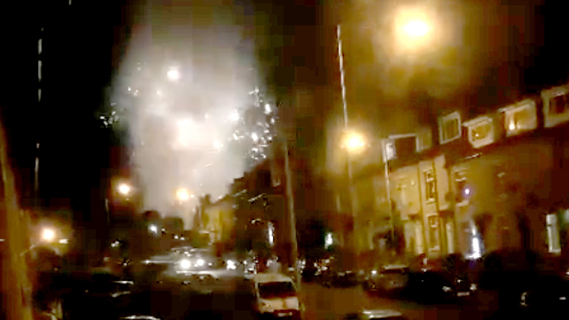 Bradford residents left furious over late night fireworks