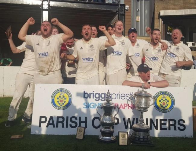 Thornton overcame Booth in last year's Parish Cup final Picture: @ThorntonCC