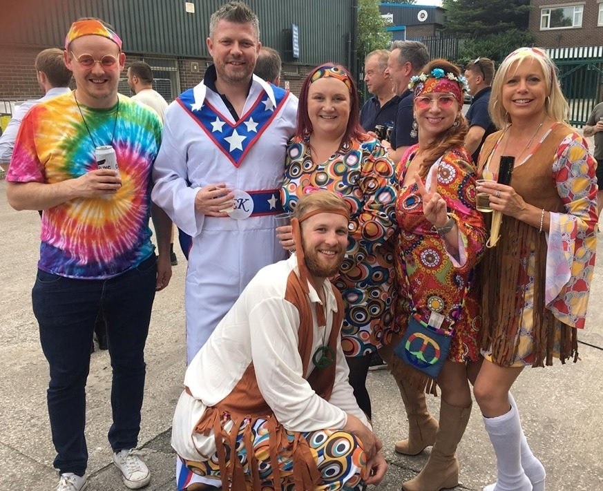 Christeyns staff collect £300 with charity barbecue