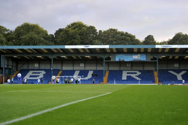 Bury's League One fixture against Tranmere on Saturday has been suspended, the EFL has announced   Picture: Martin Rickett/PA Wire