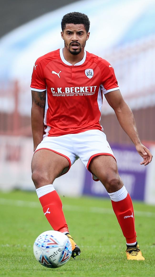 Zeki Fryers, here playing for Barnsley, scored in Swindon Town's 3-2 victory over Carlisle United in League Two