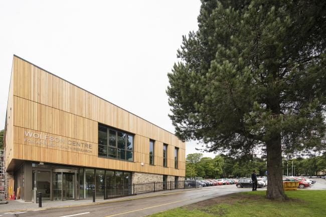 The Wolfson Centre for Applied Health Research, in the grounds of the Bradford Royal Infirmary. Picture: Sewell Group