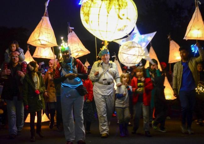The Lister's Lantern Parade in 2016
