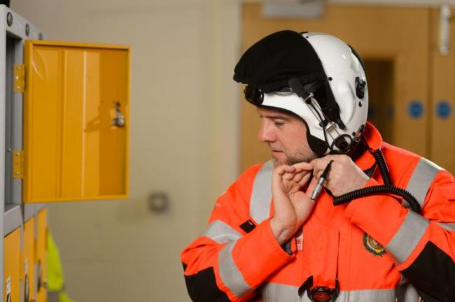 Large numbers of people have donated to replace the stolen Yorkshire Air Ambulance flight helmet