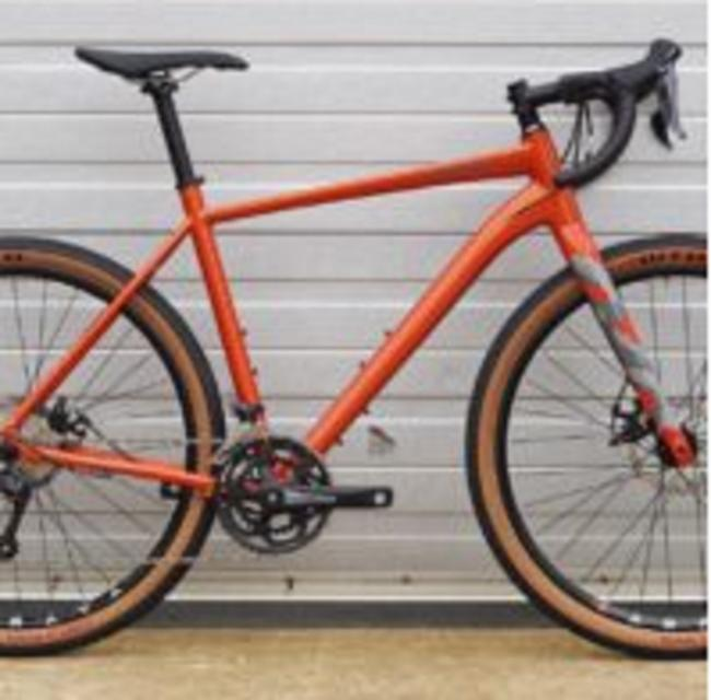 A Saracen Levarg 2019 gravel bike which was stolen from Three Peaks Cycles, in Settle