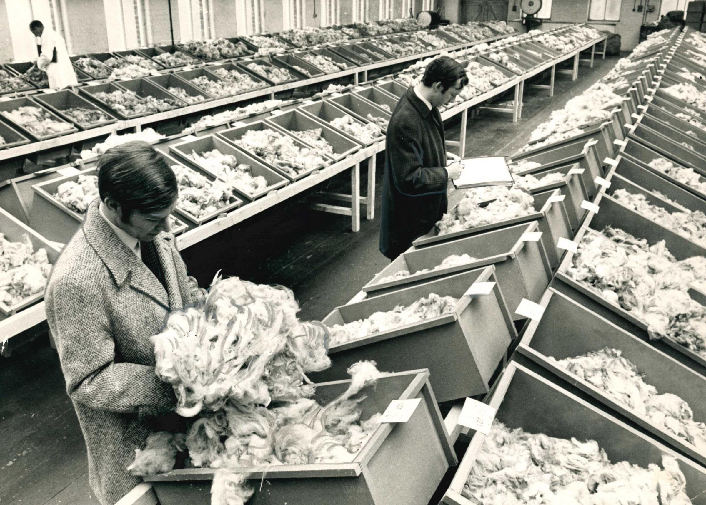 REMEMBER WHEN: The historic Conditioning House and photos of Bradford's rich textile industry