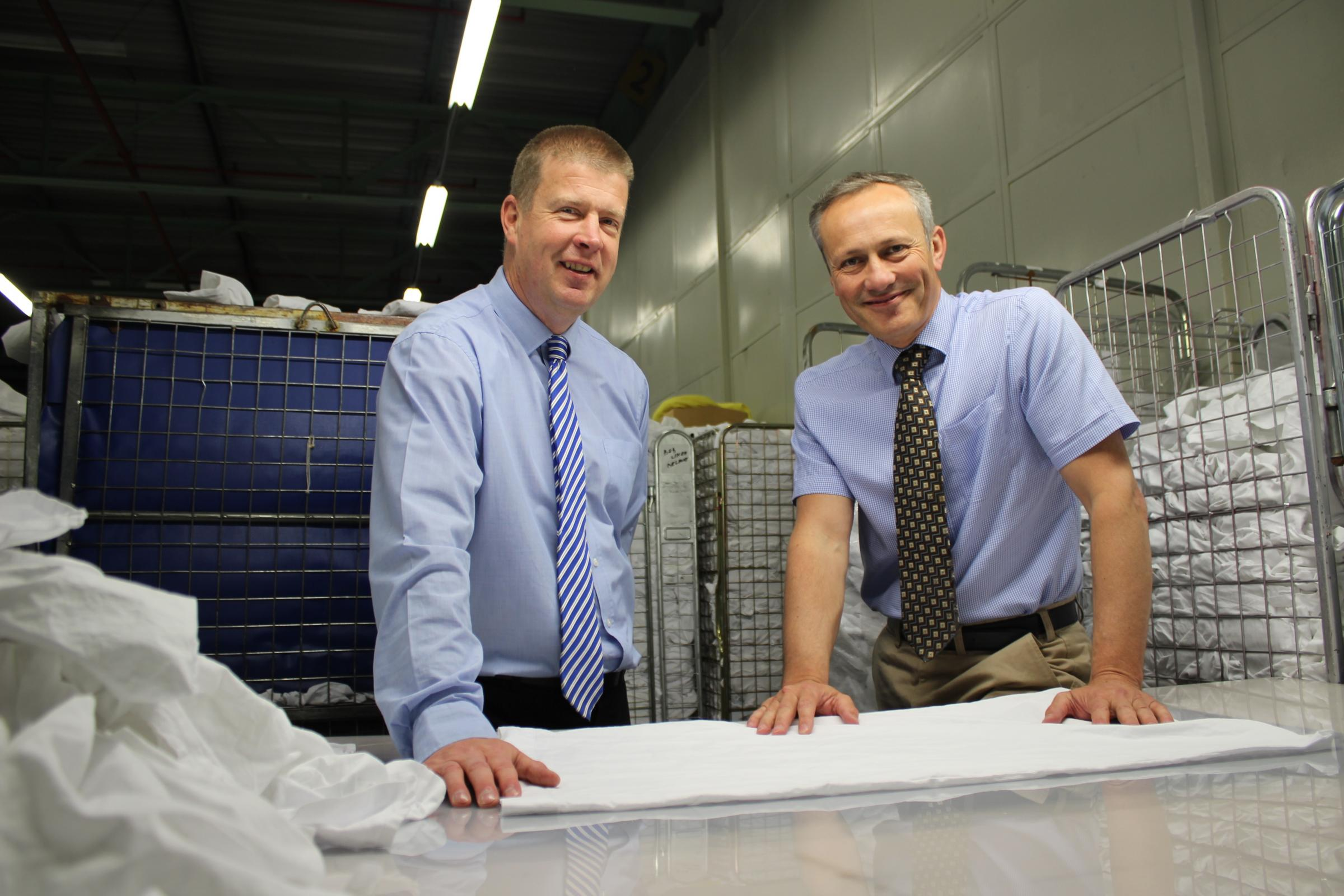 Regenex celebrating successful start to business in cleaning