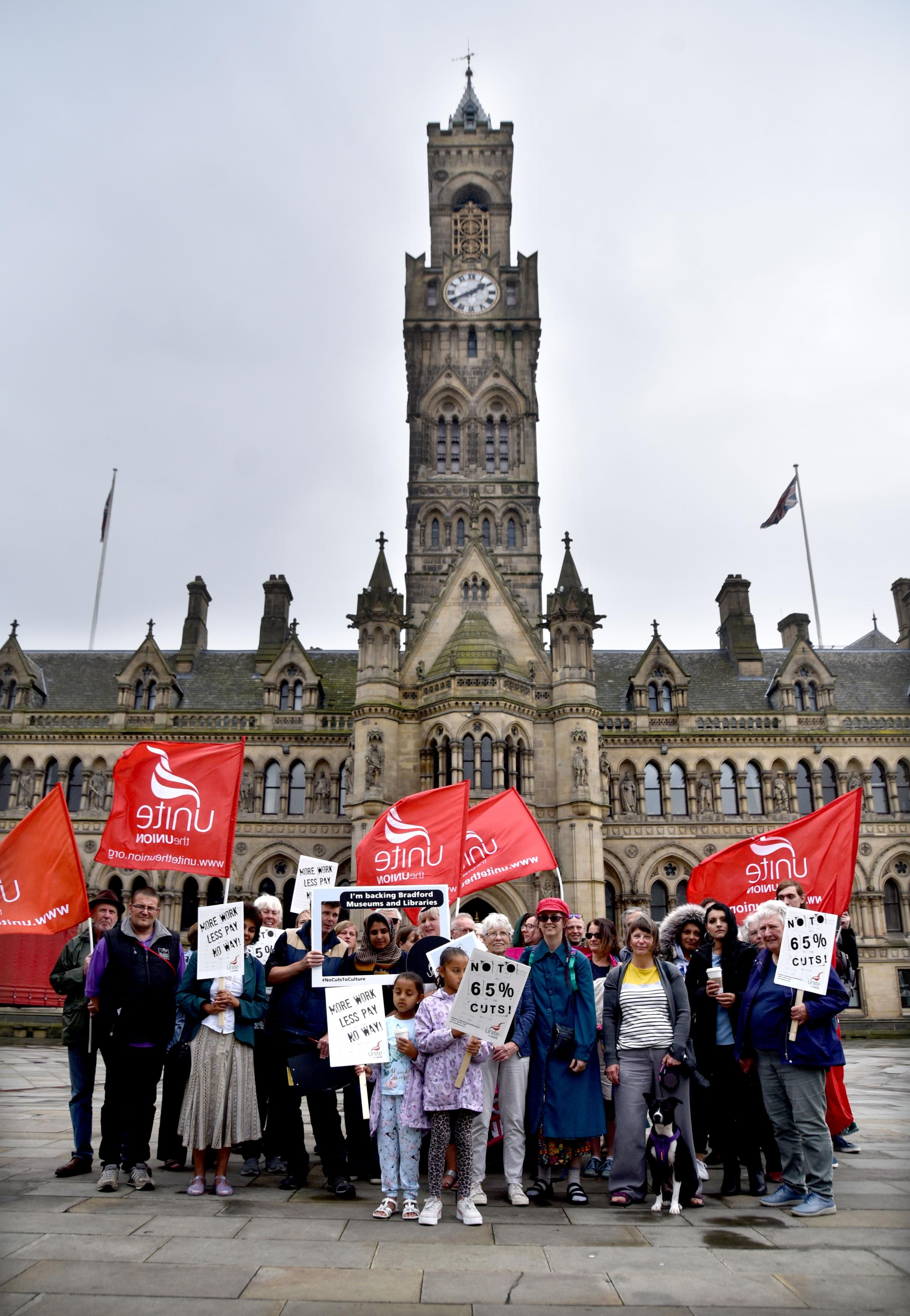 Threat of strike action from Bradford library and museum staff looms