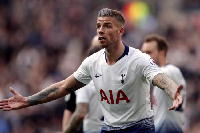 Tottenham Hotspur's Toby Alderweireld could be on the move next summer