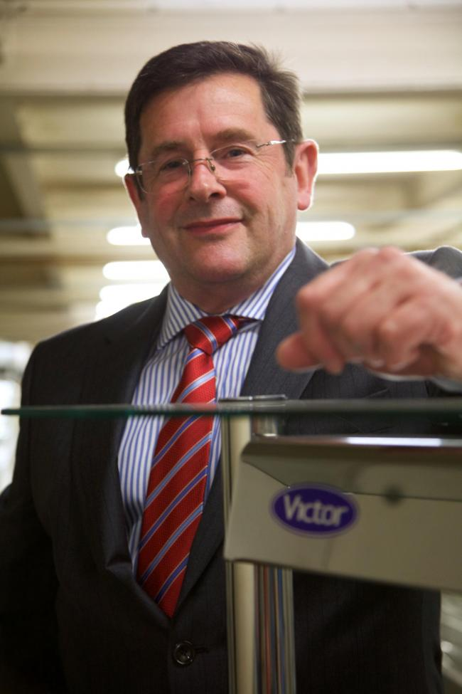 Phil Williams, managing director of Victor Manufacturing