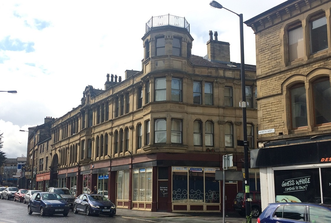 'Historical' bar plan for Keighley's Victorian arcade