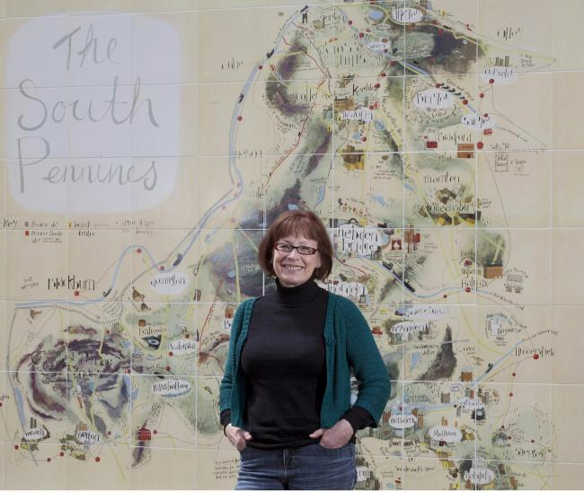 Pam Warhurst, chair of Pennine Prospects, the rural regeneration agency for the South Pennines