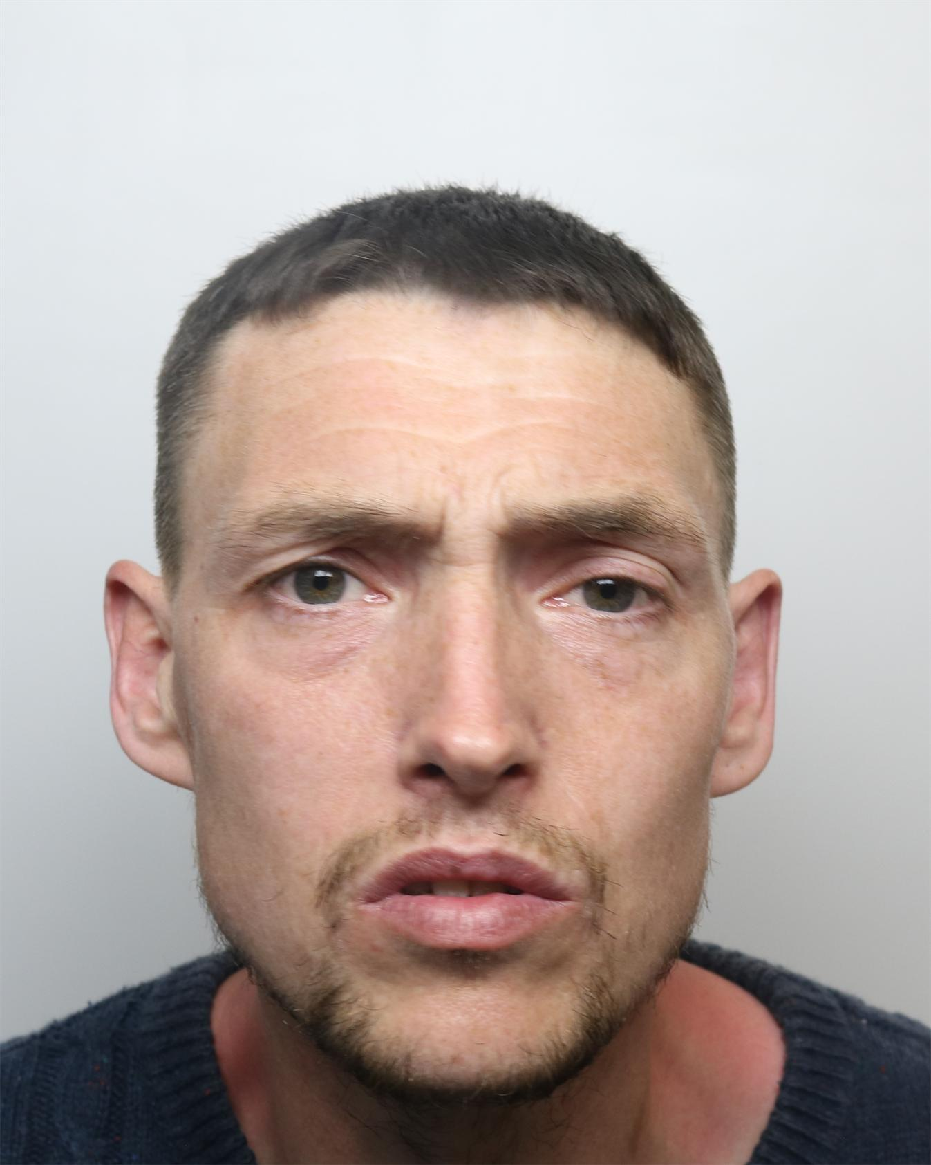 Burglar with 95 offences on his record spat in face of female police officer