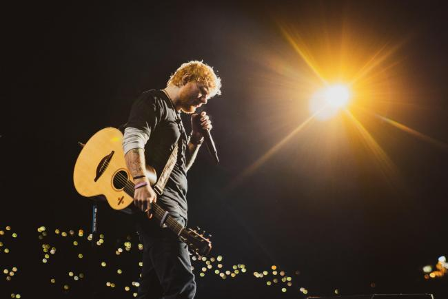 Ed Sheeran (Photo credit Zakary Walters)